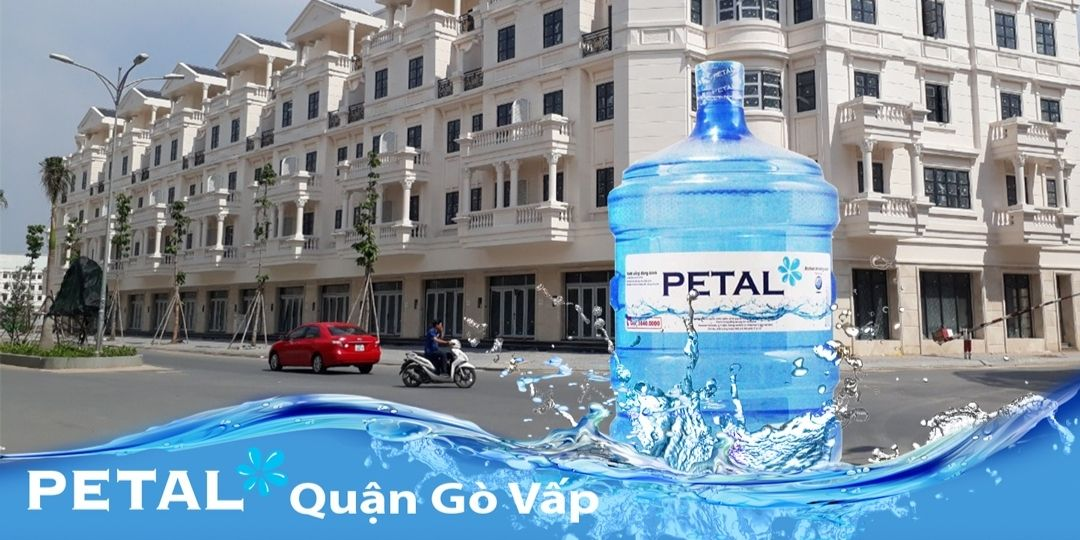 Đại lý nước PETAL tại Gò Vấp