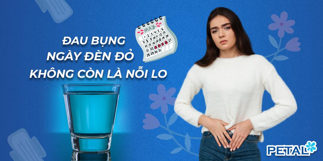 Đau bụng kinh nên uống nước gì?