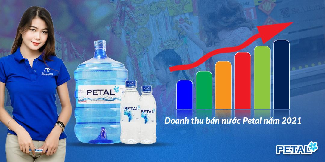 PETAL là nước tinh khiết bán chạy nhất tại TP HCM