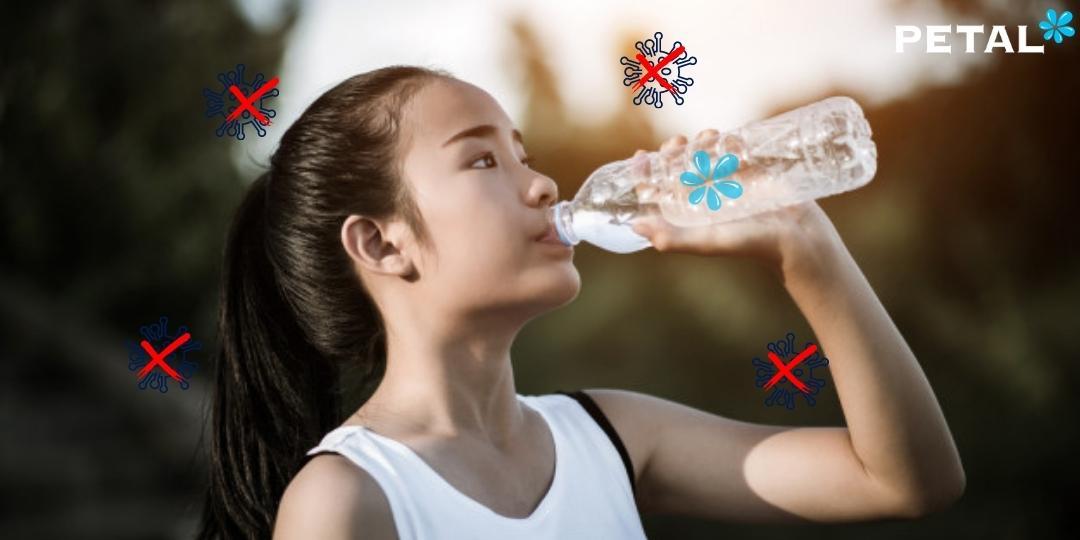 Uống nước đúng cách hỗ trợ tăng đề kháng cơ thể