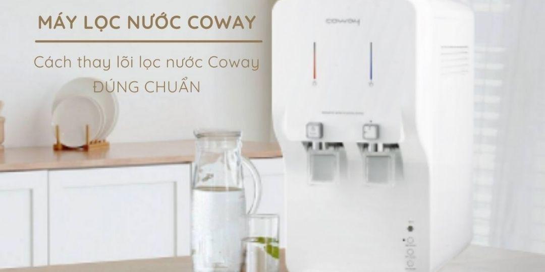 Coway là thương hiệu máy lọc nước hàng đầu tại Hàn Quốc