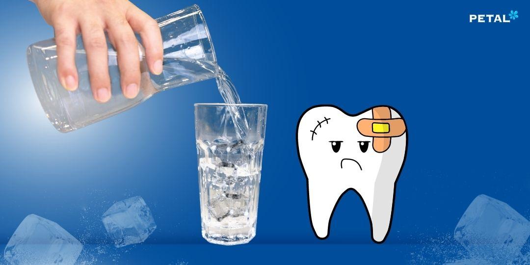 Uống nước đá có sâu răng không?